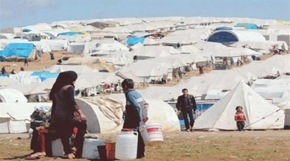 لاجئون سوريون في مخيم بالأردن (أرشيف)