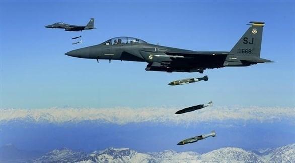 طائرات للتحالف الدولي تصقف مواقع لحركة طالبان الأفغانية (أرشيف)