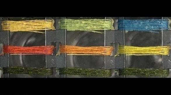 خيوط نسيج ذكية يتغير لونها فور رصدها غازات سامة في الهواء فتنبهه مرتديها