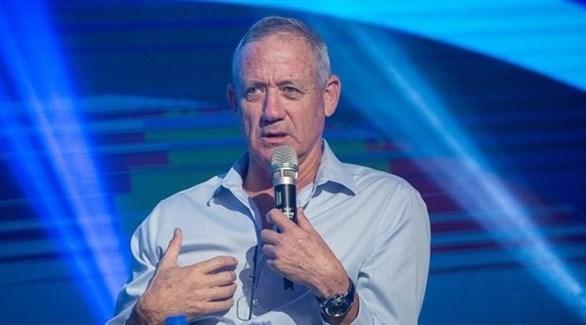 زعيم تحالف أزرق أبيض الإسرائيلي بيني غانتس (أرشيف)
