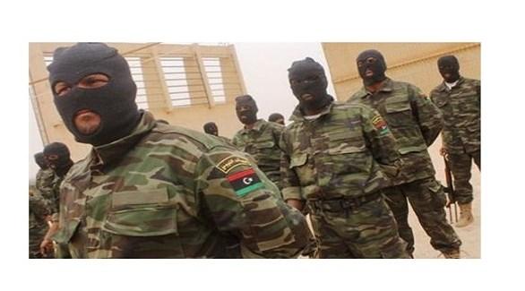 عناصر من فرقة قوات خاصة ليبية (أرشيف)