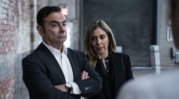 كارلا وكارلوس غصن (أرشيف)