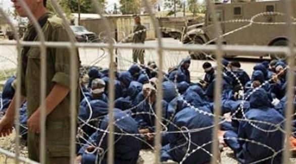 أسرى في أحد سجون الاحتلال الإسرائيلي (أرشيف)