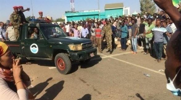 قوات سودانية تفرق احتجاجات بالخرطوم (تويتر)