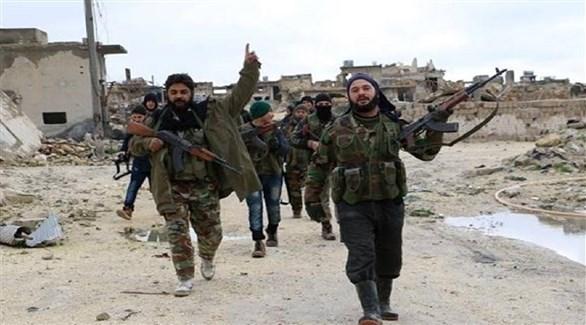 مسلحون من الفصائل السورية المعارضة المسلحة (أرشيف)