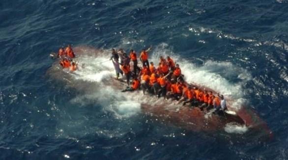 مهاجرين غير شرعيين وسط البحار (أرشيف)