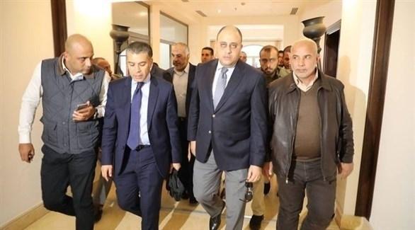 الوفد الأمني المصري مغادراً غزة (أرشيف)