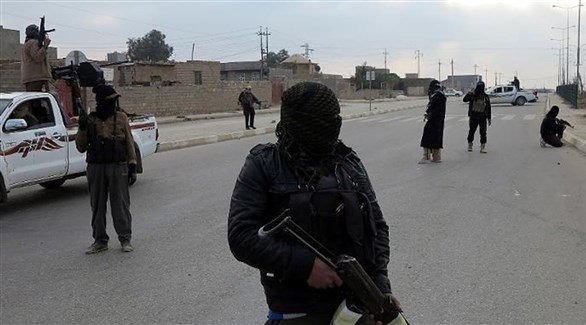 مسلحون من داعش في ليبيا (أرشيف)