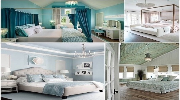 أفكار لمصابيح سقف عصرية لغرفة النوم (أميزنغ إنتيرير ديزاين)