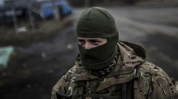 عناصر انفصالية في أوكرانيا (أرشيف)
