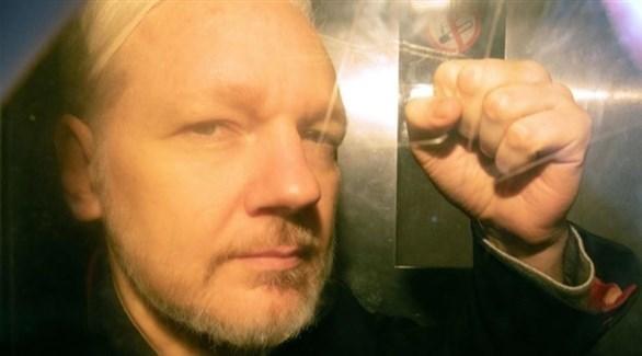 مؤسس ويكيليكس جوليان أسانج (إ ب أ)