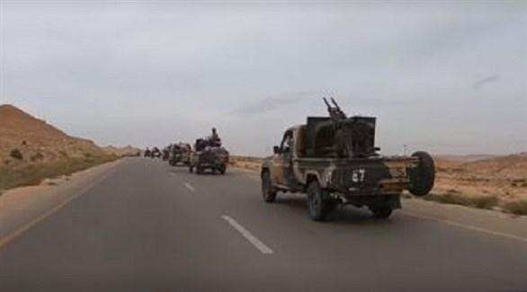 تعزيزات عسكرية للجيش الليبي متجهة نحو طرابلس (أرشيف)