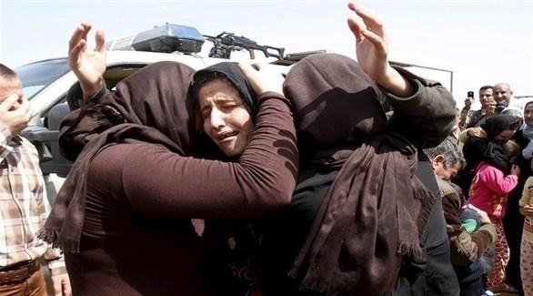 إيزيديات محررات من قبضة داعش (رويترز)