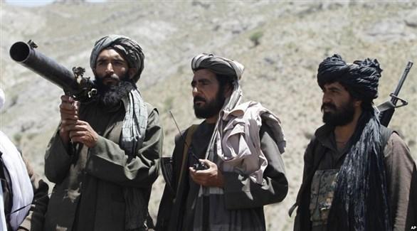 مسلحون من طالبان في أفغانستان (AP)