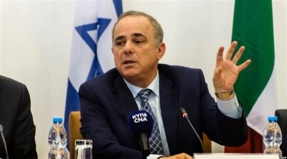 وزير الطاقة الإسرائيلي يوفال شتاينتس (أرشيف)