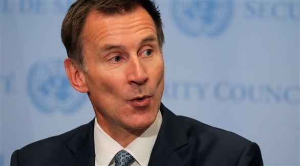 وزير الخارجية البريطاني جيريمي هنت (أرشيف)