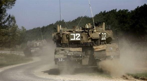 مدرعات عسكرية تابعة لجيش الاحتلال الإسرائيلي (أرشيف)