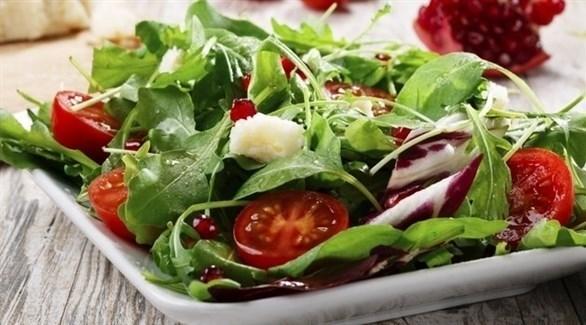 الخضروات الورقية تعظّم القيم الغذائية في السلطة (تعبيرية)