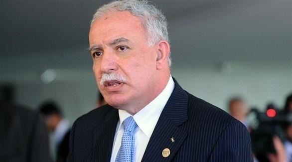 وزير الخارجية الفلسطينية رياض المالكي (أرشيف)