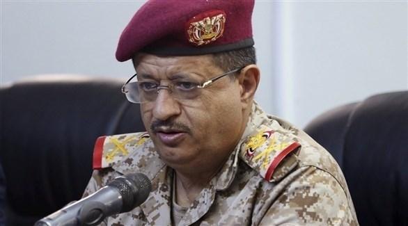 وزير الدفاع اليمني محمد علي المقدشي (أرشيف)