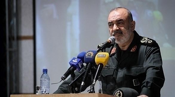 قائد الحرس الثوري الإيراني الميجر جنرال حسين سلامي (أرشيف)