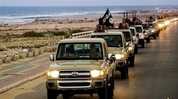 سيارت الدفع الرباعي مع تنظيم داعش الإرهابي (أرشيفية)