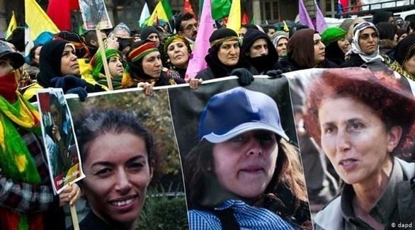 صور الناشطات الكرديات الثلاث اللواتي قتلن في باريس عام 2013 (أرشيف)