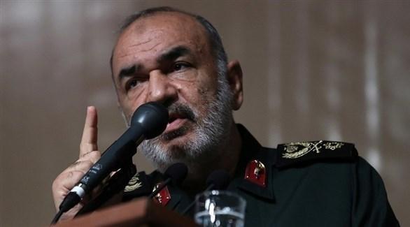 قائد الحرس الثوري الإيراني، اللواء حسين سلامي (أرشيف)