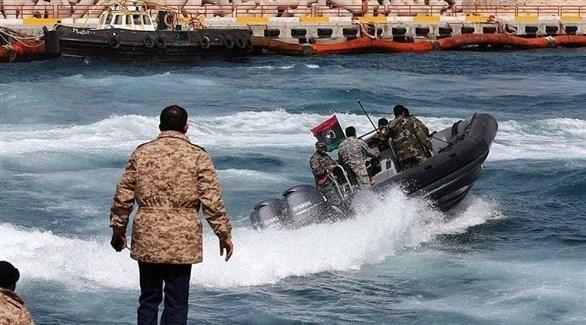 قوة تابعة لخفر السواحل الليبي (أرشيف)