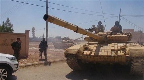دبابات تابعة للجيش السوري (أرشيف)