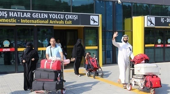 سياح سعوديون في تركيا (أرشيف)