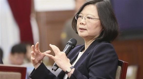 الرئيسة التايوانية تساي اينج وين (أرشيف)
