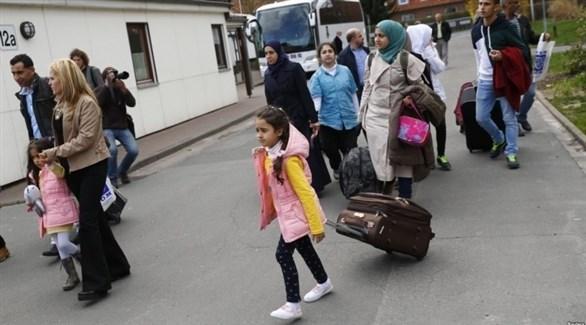 لاجئين في ألمانيا (أرشيف)