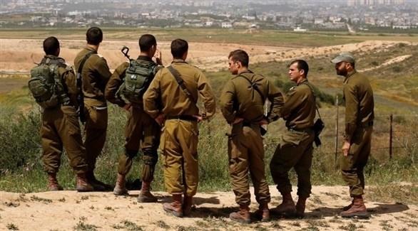 جنود إسرائيليون على الحدود مع قطاع غزة (أرشيف)