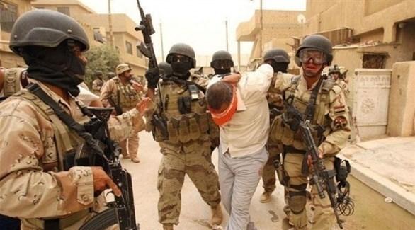 القوات العراقية تقبض على أمير كتيبة الهاونات في داعش الإرهابي (تويتر)