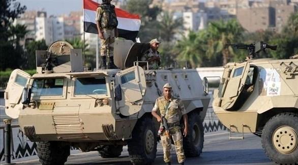 جنود وعربات من الجيش المصري في سيناء (أرشيفية)