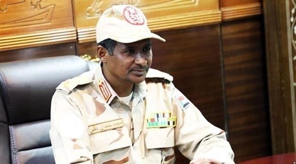 نائب رئيس المجلس العسكري الإنتقالي الفريق أول محمد حمدان دقلو (أرشيف)