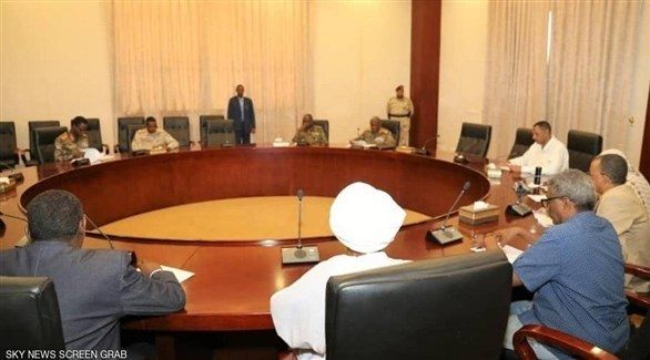 اجتماع المجلس العسكري مع قوى الحرية والتغيير (أرشيف)