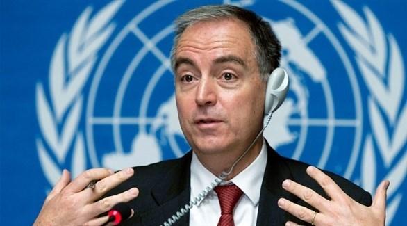 منسق الأمم المتحدة  للشؤون الإنسانية للأزمة السورية بانوس مومسيس (أرشيف)