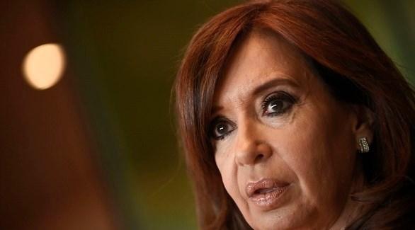 رئيسة الأرجنتين السابقة كريستينا فيرنانديز دي كيرشنر (أرشيف)