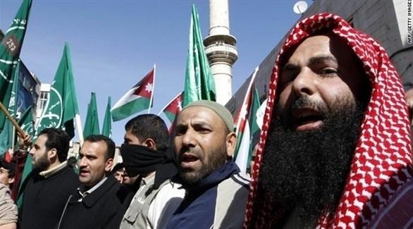 اعتصام إخواني في الأردن (أرشيف)
