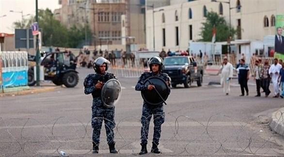 عناصر من الشرطة العراقية في المنطقة الخضراء (أرشيف)