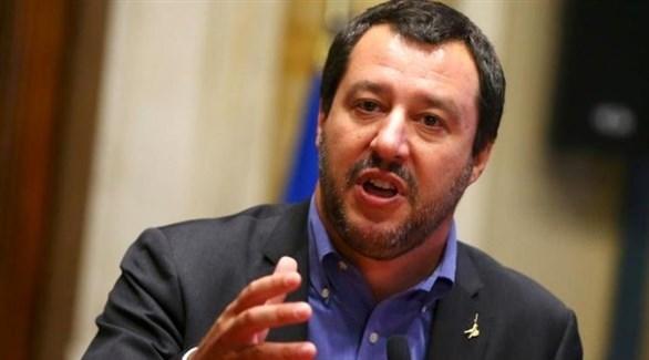 نائب رئيس الوزراء الإيطالي ماتيو سالفيني(أرشيف)
