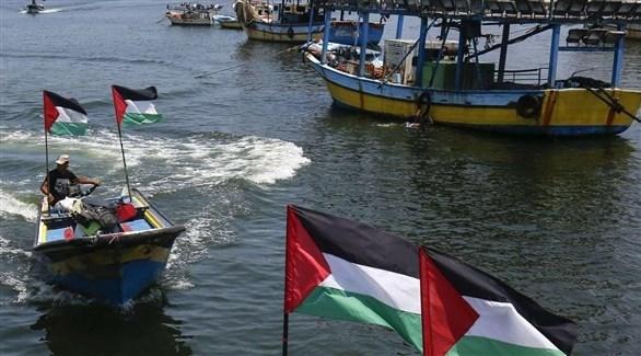 مراكب فلسطينية في غزة (أرشيف)