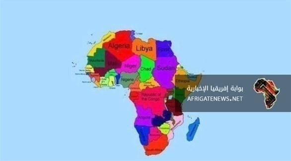 الخريطة التي نشرتها أثيوبيا وتختفي منها الصومال (من المصدر)