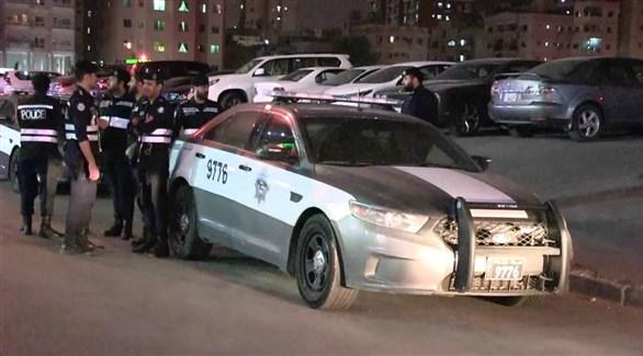 عناصر من الشرطة الكويتية في حولي (أرشيف)