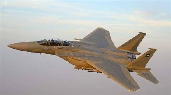 مقاتلة من طيران التحالف العربي في اليمن (أرشيف)