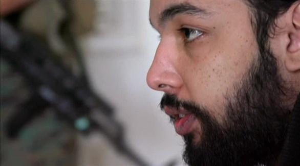 الداعشي الفرنسي ياسين صقم كما ظهر في لقاء على قناة فرنسية بعد اعتقاله (أرشيف)