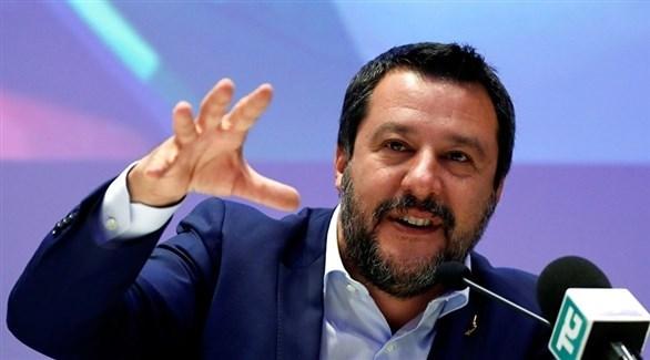 نائب رئيس الحكومة الإيطالية ماتيو سالفيني(أرشيف)