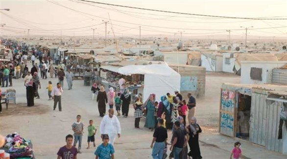 مخيم الزعتري للاجئين السوريين في الأردن (أرشيف)